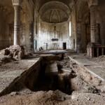 gravestone church Urbex © Julien Cornette