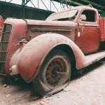 Camion de pompier abandonné Urbex© Julien Cornette